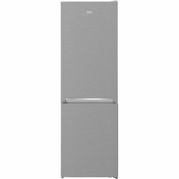 BEKO RCNA366K40XBN, kombinace chladničky a mrazničky, nerezová ocel