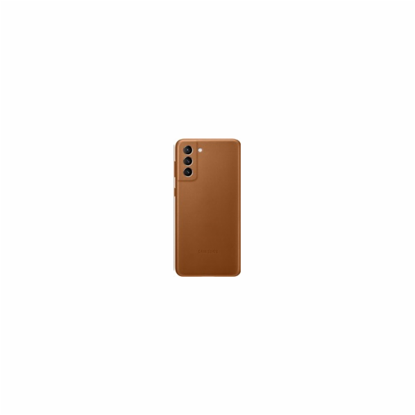 Samsung Leather Cover for G996B Galaxy S21+ brown