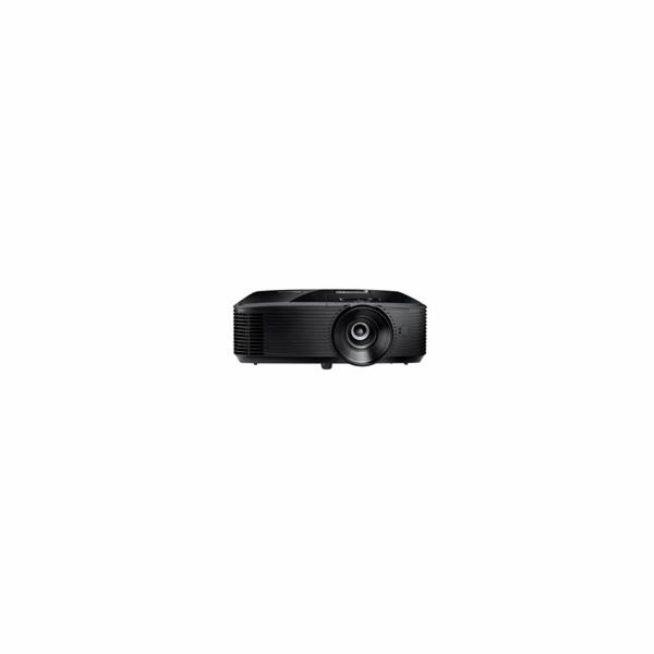 Optoma projektor W400LVe (DLP, FULL 3D, WXGA, 4 000 ANSI, 25 000:1, VGA, HDMI, RS232, 1x10W speaker)