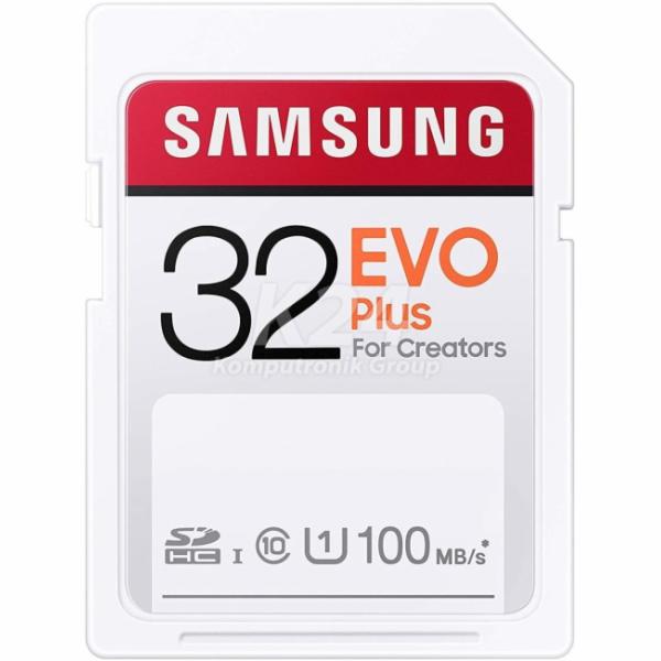 EVO PLUS SDHC 32GB UHS-I U1 MB-SC32H/EU paměťová karta
