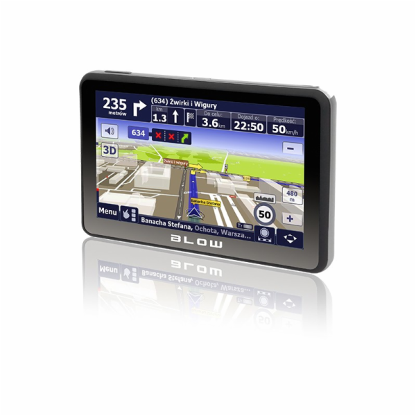 BLOW GPS590 Sirocco 8 GB GPS navigace