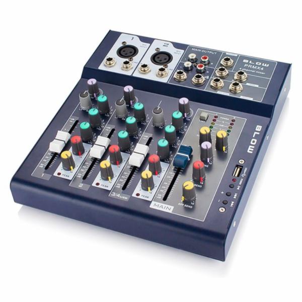 BLOW PRMX 4 Pult mixážní 4 kanály