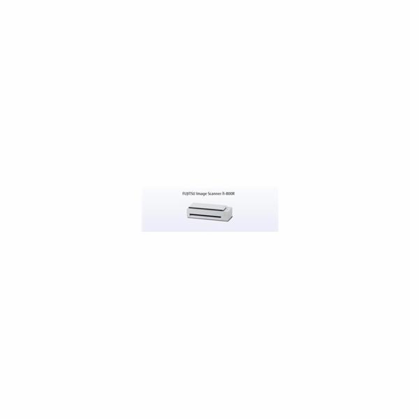FUJITSU skener Fi-800R A4, color, duplex, 40ppm/80ipm, ADF 30, USB 3.2, 600 dpi, ultrazvuková detekc