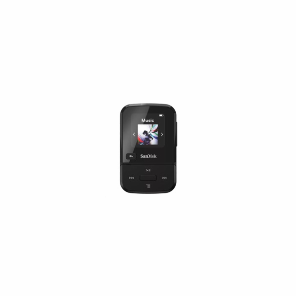 SanDisk Clip Sport Go MP3 Player 16GB, Black