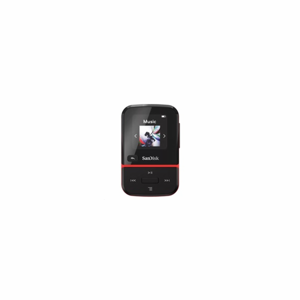 SanDisk Clip Sport Go MP3 Player 32GB, Red