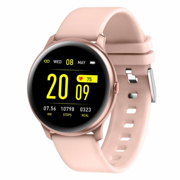 MaxCom Fit FW32 Neon chytré hodinky růžové