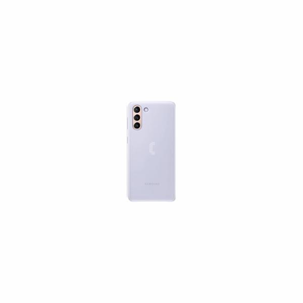 Samsung kryt LED EF-KG996CVE pro Galaxy S21+, fialová