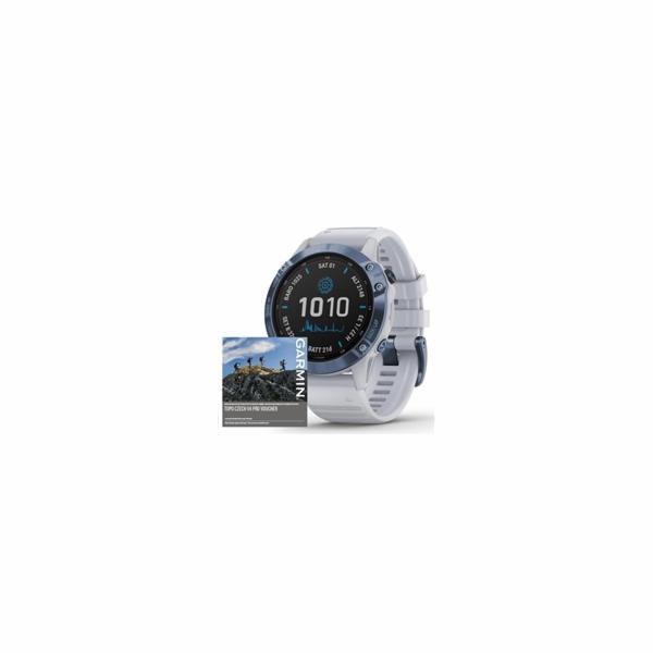 Fenix6 PRO Solar TiBlue/White M/M GARMIN