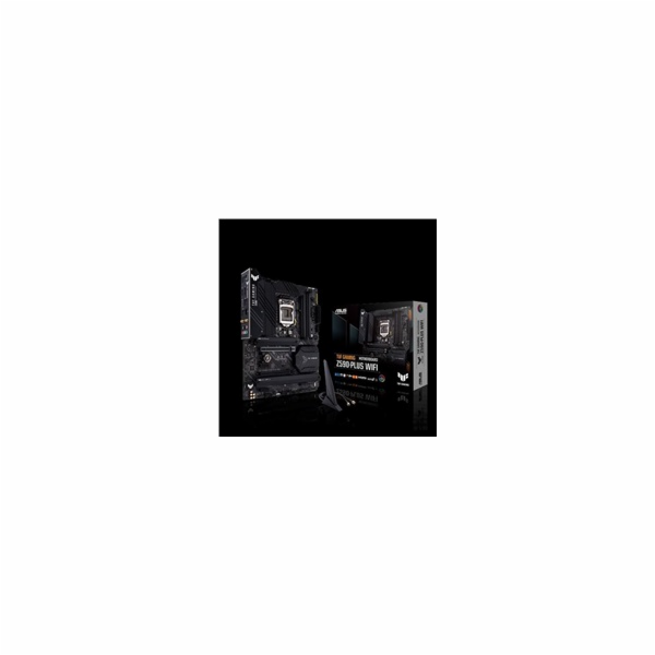 ASUS MB Sc LGA1200 TUF GAMING Z590-PLUS WIFI, Intel Z590, 4xDDR4, 1xDP, 1xHDMI, WI-FI