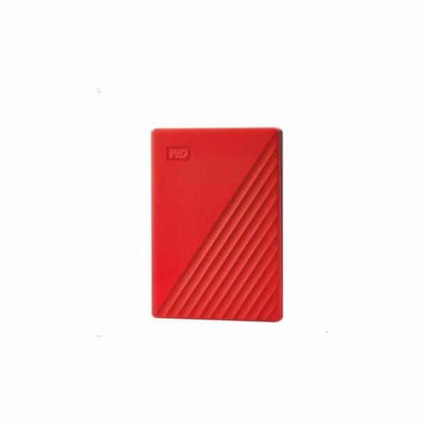 Western Digital My Passport 2TB cervený USB 3.0