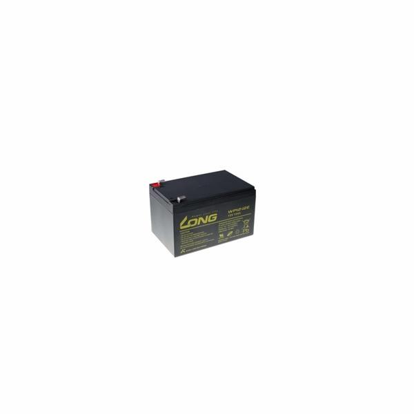Baterie Avacom Long 12V 12Ah olověný akumulátor DeepCycle AGM F2