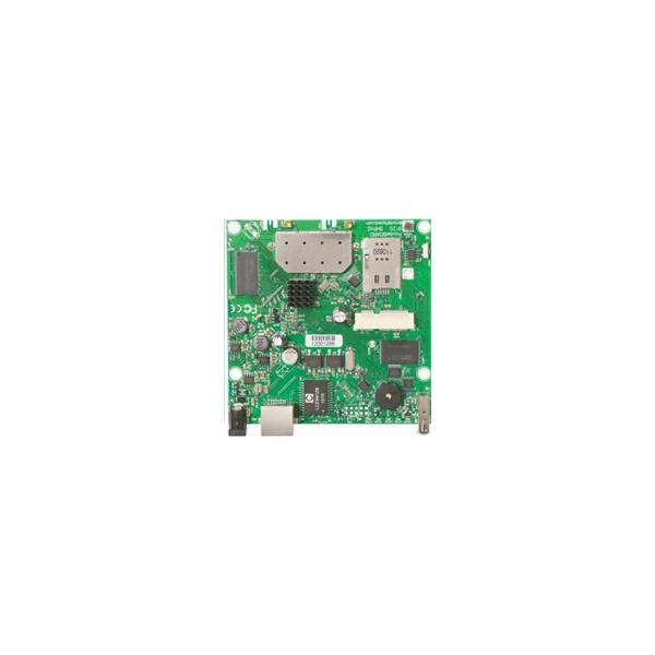 RouterBoard Mikrotik RB912UAG-5HPnD 600 MHz, 1x miniPCIe, 2x MMCX, 1x LAN, 1x USB, 1x SIM vč. L4