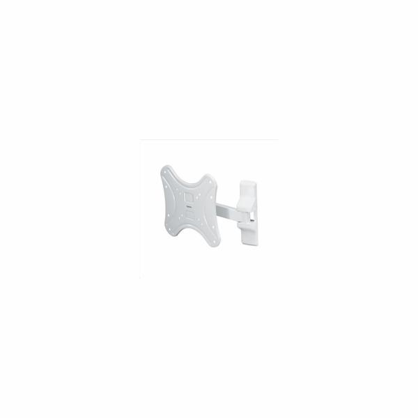 Držák Hama nástěnný pro TV, 1 rameno (2 klouby), 200x200, bílá (108740)