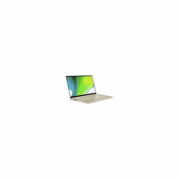 "ACER NTB Swift 5 - i5-1135G7@2.40GHz,8GB,512GBSSD,14"" touch FHD,BT5,cam,backl,USB3.2,USB Type-C,W10H,Zlatá"