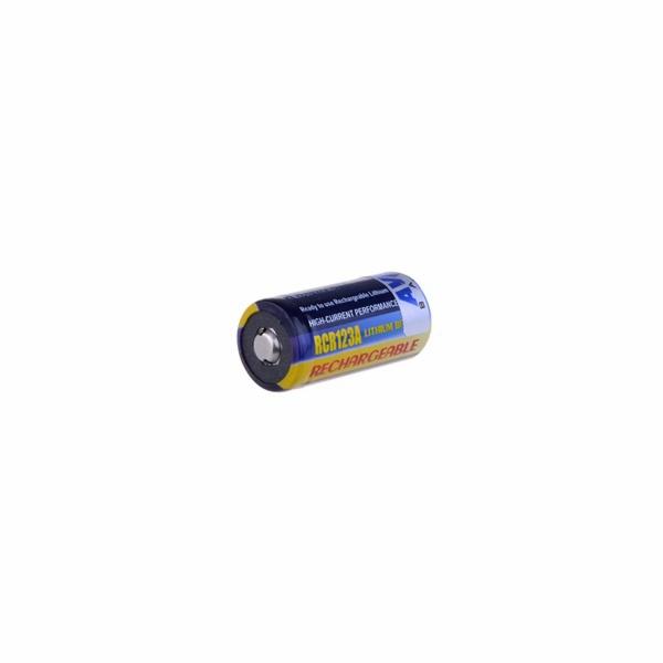 AVACOM nabíjecí fotobaterie CR123A, CR23, DL123A Li-Fe 3V 500mAh 1.5Wh