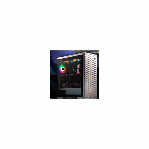 ADATA XPG skříň DEFENDER PRO Mid-Tower Case, bez zdroje, ARGB fan 3x, white