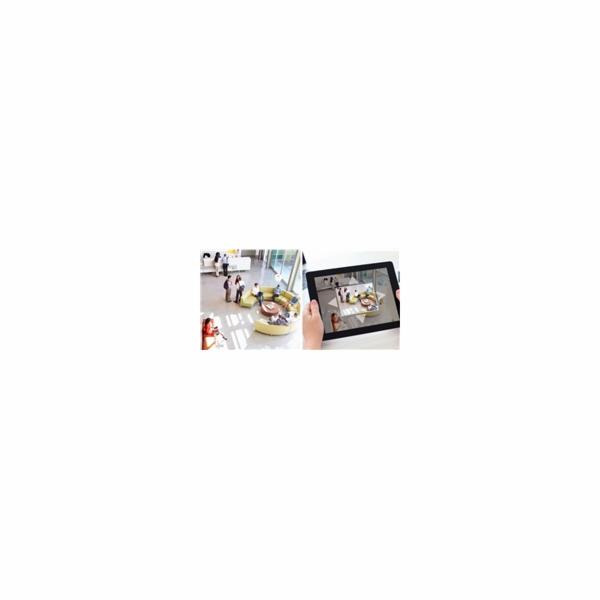 iGET HOMEGUARD HGWOB853 - Bezdrátová rotační venkovní IP PTZ FullHD kamera, Onvif