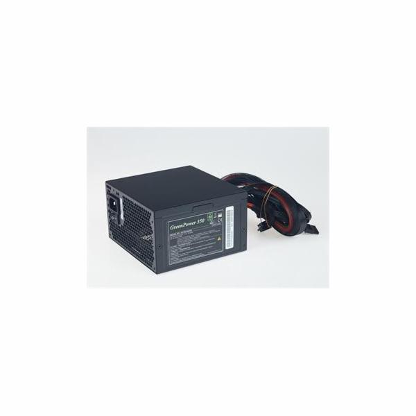 Zdroj Fortron AX 350-60APN GreenPower 12fan/act.PFC/85+/ploché kabely, ATX