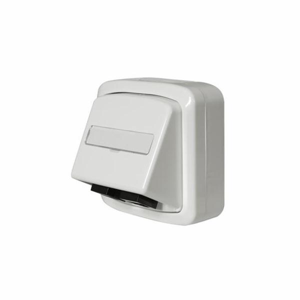 Zásuvka ABB Tango 1x RJ45 Cat.6, UTP (White)
