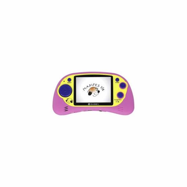 """Kapesní hra GoGEN MAXI HRY 150 P 2,7"""" LCD displej, 200 her, růžová"""