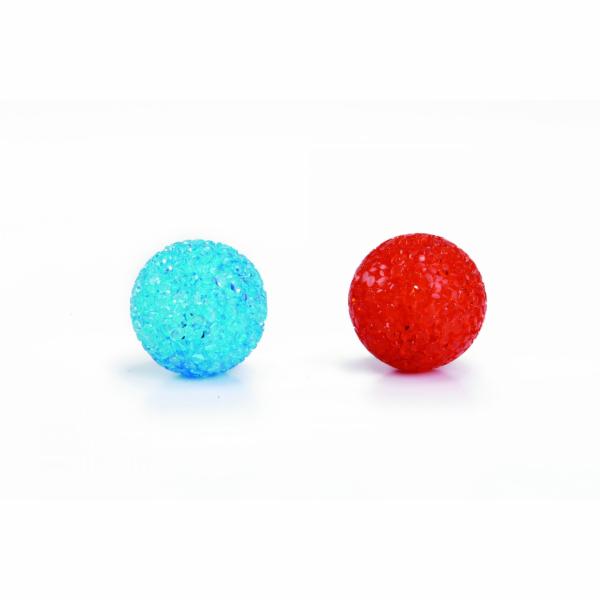 Beeztees Hračka pro kočky míček se třpytkami 4cm