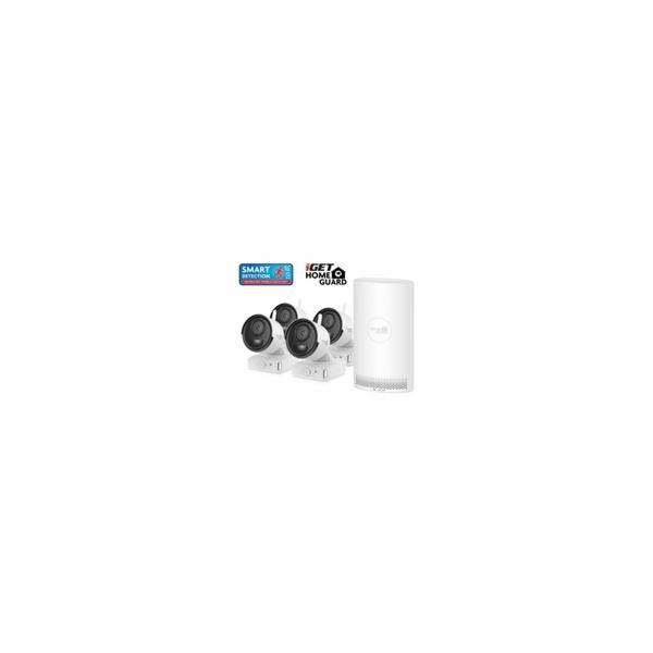 Kamerový set iGET HOMEGUARD HGNVK68004 Wire-free FullHD NVR 6CH + 4x bateriová kamera HGNVK686CAM