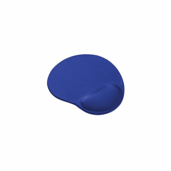 Podložka pod myš ergonomická, gelová, pro praváky, černá