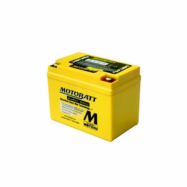 Baterie Motobatt MBTX4U 4,7Ah, 12V, 2 vývody