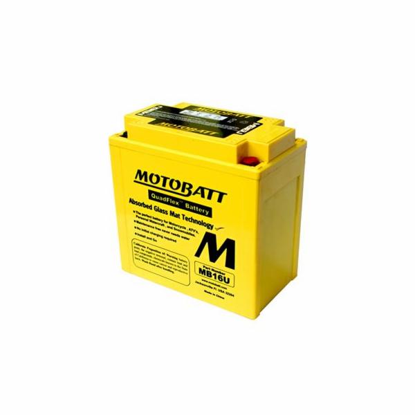 Baterie Motobatt MB16U 20Ah, 12V, 4 vývody