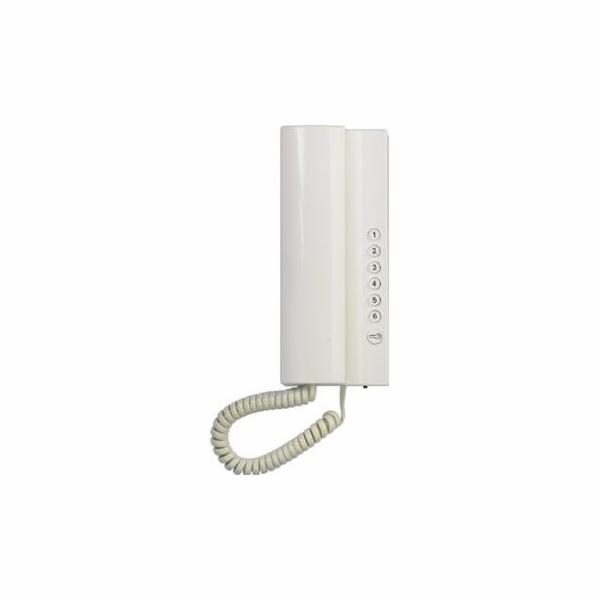 Domácí telefon Tesla Elegant bílý 2-BUS