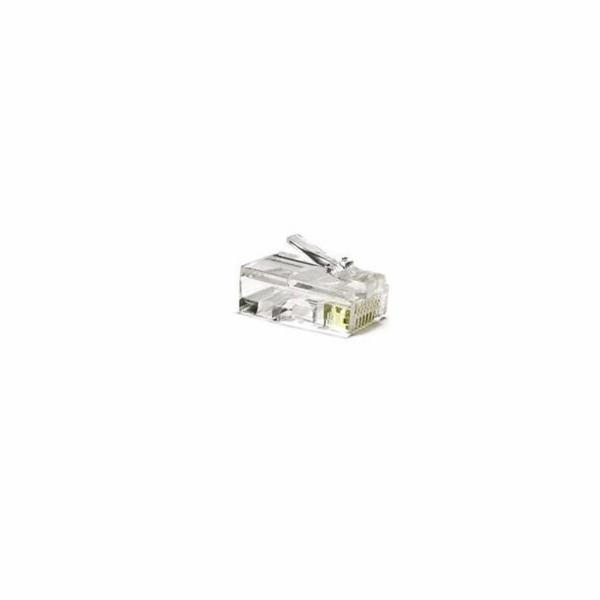Konektor Solarix KRJ45/5SLD UTP 8p8c, Cat 5e, drát, 50micron