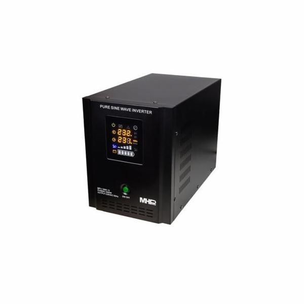 Napěťový měnič MHPower MPU-1600-12 12V/230V, 1600W, funkce UPS, čistý sinus