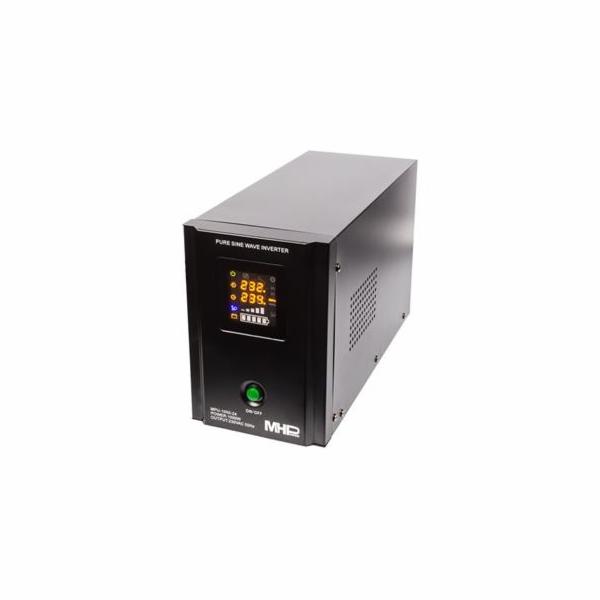 Napěťový měnič MHPower MPU-1050-24 24V/230V, 1050W, funkce UPS, čistý sinus