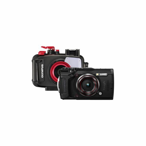 Digitální fotoaparát Olympus TG-6 Black Open Water Diver Kit