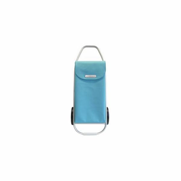 Nákupní taška Rolser Com Soft 8 na kolečkách, aqua
