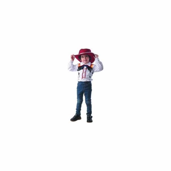 Karnevalový kostým Kovboj 92 - 104 cm