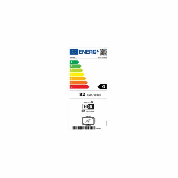 55UA6B63DG ANDROID SMART UHD TV TOSHIBA