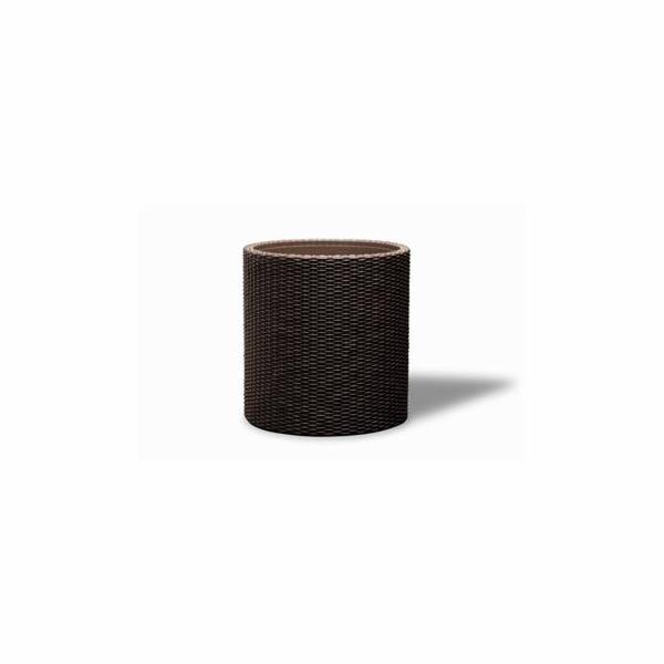 Květináč Keter Cylinder M Brown