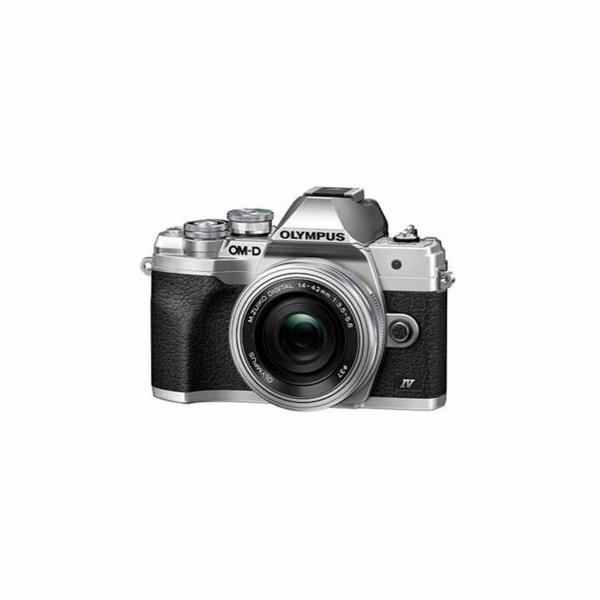 Digitální fotoaparát Olympus E-M10 Mark IV 1442 EZ kit silver/silver