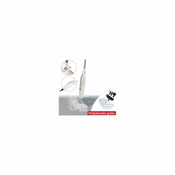 Livington Prime Steam Mop - 1 parní čistič, 10 funkcí