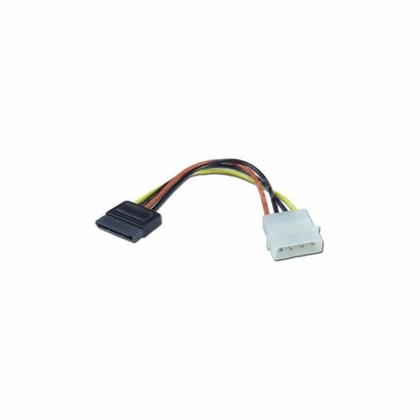 Kabel k HDD SATA (napájecí redukce) kabelová 0,15m