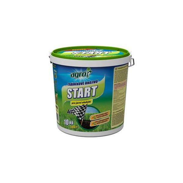 Hnojivo Agro Trávníkové hn.plast.kb. START 10kg