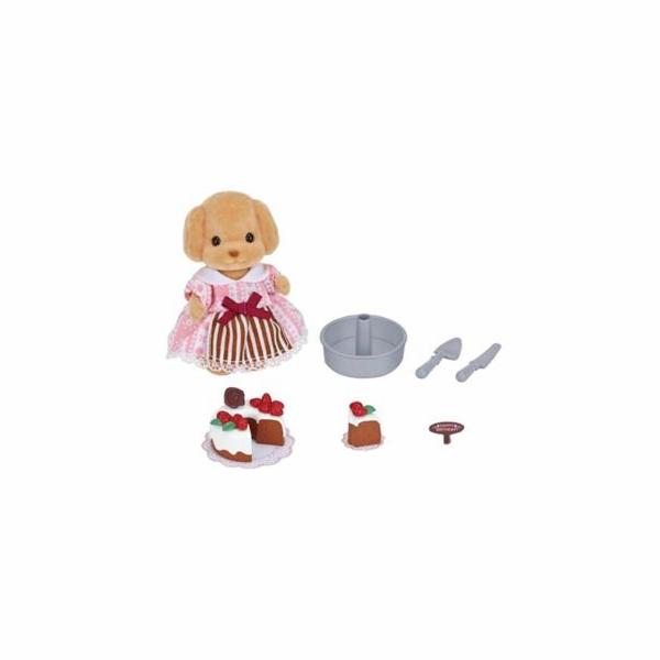 Hračka Sylvanian Family Set zdobení dortů a pudl