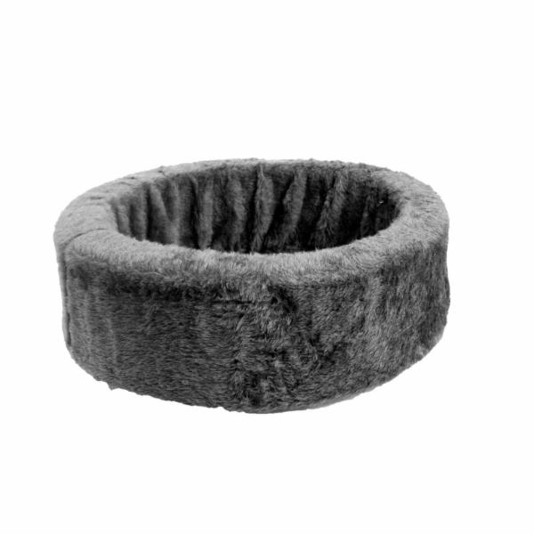 Karlie Pelech Basic plyšový pro psy šedý 80cm