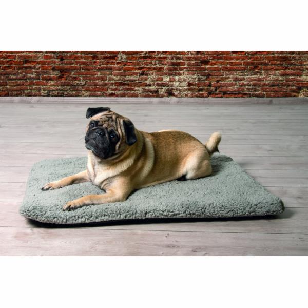 Beeztees Polštář pro psy s paměťovou pěnou šedý 78x55x4cm