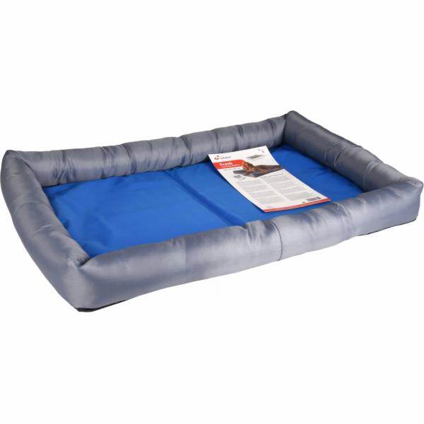Flamingo Chladící pelíšek pro psy modro/šedý L 70x50x8,5cm