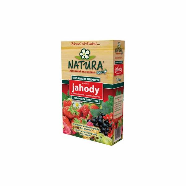 Hnojivo Agro Natura Organické hnojivo pro jahody a drob.ovoce 1.5 kg