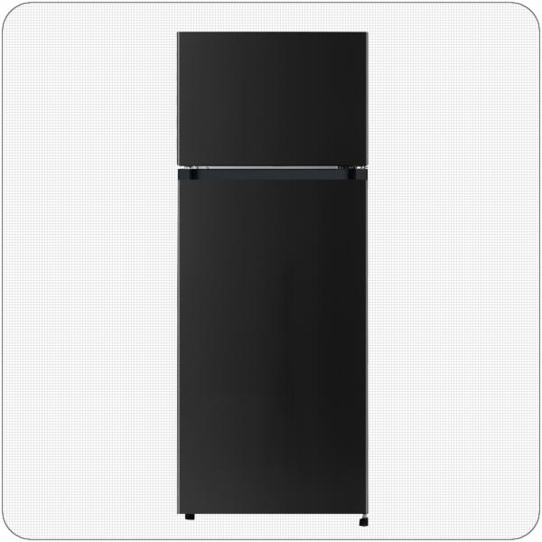 PKM GK212.4A++N3 B Kombinovaná chladnička černá