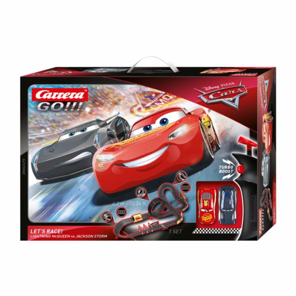 Carrera GO!!! Set Disney Pixar CARS - Let's Race