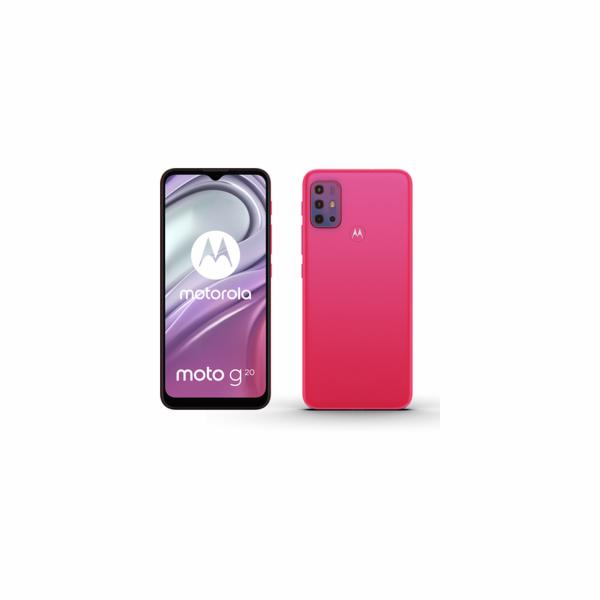 Moto G20 4+64GB DS Flamingo Red MOTOROLA
